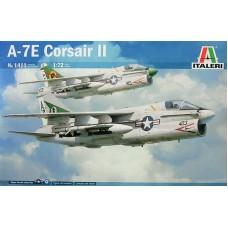 Italeri 1/72 Американский палубный штурмовик A-7E Corsair II. № 1411