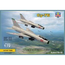 Modelsvit 1/72 Советский истребитель-бомбардировщик Су-7Б. № MSV_72006