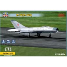 Modelsvit 1/72 Советский перехватчик И-ЗУ (И-420). № MSV_72010