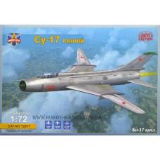 Modelsvit 1/72 Советский истребитель-бомбардировщик Су-17 «Fitter» ранних выпусков. № MSV_72017