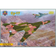 Modelsvit 1/72 Советский истребитель-бомбардировщик Су-17 «Fitter». № MSV_72018