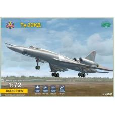 Modelsvit 1/72 Советский дальний сверхзвуковой бомбардировщик Ту-22КД «Шило». № MSV_72022