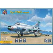 Modelsvit 1/72 Советский истребитель-бомбардировщик Су-17М3 «Fitter» ранняя версия. № 72044