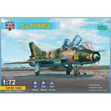 Modelsvit 1:72 Советский учебно-боевой истребитель Су-17УМ3 (С-52УМ3). № 72050