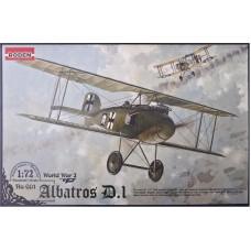 Roden 1/72 Германский самолет Albatros D.I. № 001