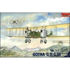 Roden 1/72 Германский средний бомбардировщик Gotha G.II, GIII. № 002