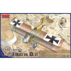 Roden 1/72 Германский самолет Albatros D.II. №  006
