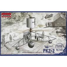 Roden 1/72 Экспериментальный прототип вертолёта времён Первой Мировой войны - PKZ-2. № 008