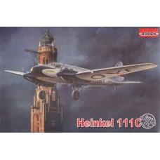 Roden 1/72 Немецкий коммерческий транспорт Heinkel He-111C. № 009