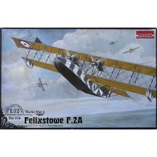 Roden 1/72 Британская летающая лодка-биплан Felixstowe F.2A late. №  014