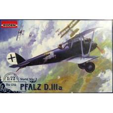 Roden 1/72 Германский самолет Pfalz D.IIIa. № 015