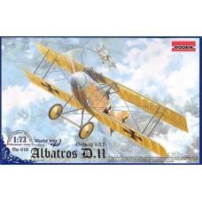 Roden 1/72 Германский самолет Albatros D.II Oeffag s.53. №  018