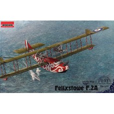Roden 1/72 Британская летающая лодка-биплан Felixstowe F.2A early. №  019