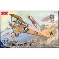 Roden 1/72 Германский истребитель Albatros D.III (Oeffag series 53.2). №  022