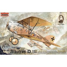 Roden 1/72 Германский истребитель Albatros D.III Oeffag series 253. № 026