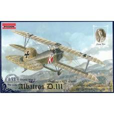 Roden 1/72 Германский истребитель Albatros D.III Oeffag s.153 Iate. № 030