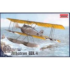 Roden 1/72 Германский поплавковый самолет Albatros W.4 late. № 034