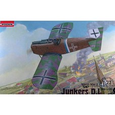 Roden 1/72 Германский самолет Junkers D.I (версия с коротким фюзеляжем). № 036