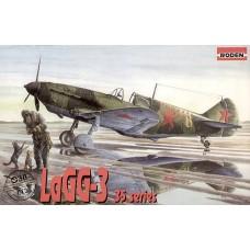 Roden 1/72 Советский истребитель Лагг-3, 35 серии. № 038