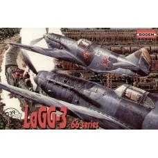 Roden 1/72 Советский истребитель Лагг-3, 66 серии. № 039