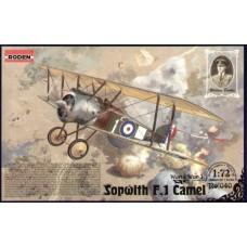 """Roden 1/72 Британский истребитель-биплан Sopwith F.1 """"Camel"""". №  040"""