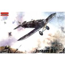 Roden 1/72 Германский самолет Junkers D.I. № 041