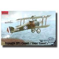 """Roden 1/72 Британский истребитель-биплан Sopwith 2F.1 """"Camel"""". №  044"""