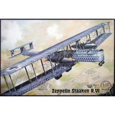 Roden 1/72 Германский тяжёлый бомбардировщик Zeppelin Staaken R.VI (Aviatik built, R52/17). № 050