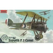 Roden 1/72 Британский истребитель-биплан Sopwith F.1 Camel with Bentley. № 053