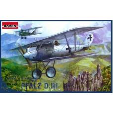 Roden 1/72 Германский самолет Pfalz D.III World War I. № 003