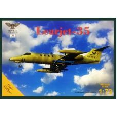 SOVA-M 1/72 Американский административный самолёт Learjet-35 Phoenix Air. № 72019