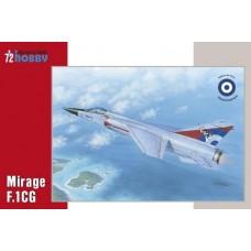 Special Hobby 1/72 Многоцелевой истребитель Dassault Mirage F.1CG ВВС Греции. № 72294