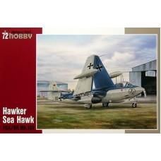 Special Hobby 1/72 Истребитель-бомбардировщик Hawker Sea Hawk FGA/RR Mk. 101 ВВС ФРГ. № 72173