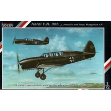 Special Hobby 1/72 Учебно-тренировочный самолет Nardi F.N. 305 (Luftwaffe and Royal Hungarian AF). № 72088