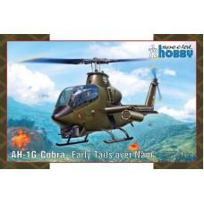 "Special Hobby 1:72 Американский ударный вертолёт Bell AH-1G Cobra ""Early Tails over Nam"". № 72427"