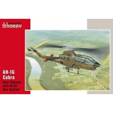"Special Hobby 1/72 Американский ударный вертолёт Bell AH-1G Cobra ""Over Vietnam with M-35 Gun System"". № 72076"