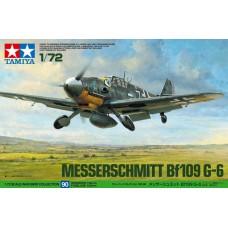 Tamiya 1/72 Немецкий истребитель Messerschmitt Bf.109G-6. № 60790