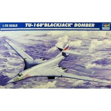 """Trumpeter 1/72 Советский стратегический бомбардировщик-ракетоносец Ту-160 """"Blackjack"""". № 01620"""