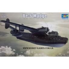"Trumpeter 1/72 Советская многоцелевая летающая лодка Бе-6 ""Madge"". № 01646"