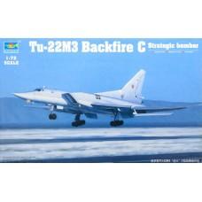 "Trumpeter 1/72 Советский дальний бомбардировщик Ту-22М3 ""Backfire С"". № 01656"