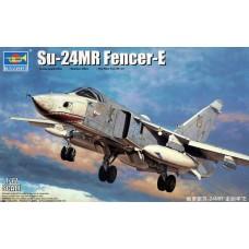 """Trumpeter 1/72 Советский тактический разведывательный самолёт Су-24МР """"Fencer E"""". № 01672"""