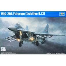 "Trumpeter 1/72 Советский истребитель МиГ-29А ""Fulcrum C"" Block 9-12. № 01674"