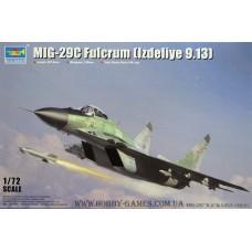 "Trumpeter 1/72 Советский истребитель МиГ-29C ""Fulcrum C"" Block 9-13. № TRU_01675"