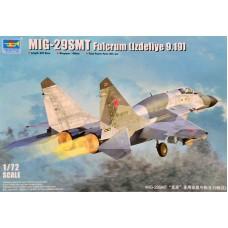 """Trumpeter 1/72 Истребитель МиГ-29CМТ """"Fulcrum"""" (Изделие 9-17). № TRU_01676"""