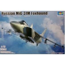 Trumpeter 1/72 Советский истребитель-перехватчик МиГ-31М Foxhound. № 01681