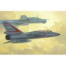 Trumpeter 1/72 Американский двухместный истребитель-перехватчик Convair F-106B Delta Dart. № 01683
