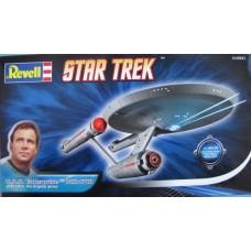 """Revell 1/600 Корабль U.S.S. Enterprise NCC-1701 из сериала """"Звёздный Путь"""" (Star Trek). № 04880"""