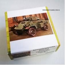 Zebrano 1/100 Британский средний бронеавтомобиль Humber Armored Car Mk.IV. № 100008