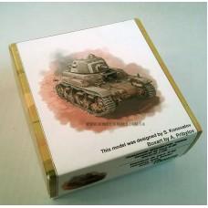 Zebrano 1/100 Румынский истребитель танков Vanatorul de Care R-35. № 100028