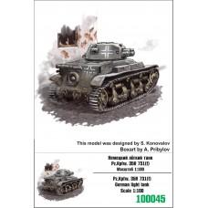 Zebrano 1/100 Немецкий легкий танк Pz.Kpfw. 35R 731(f). № 100045